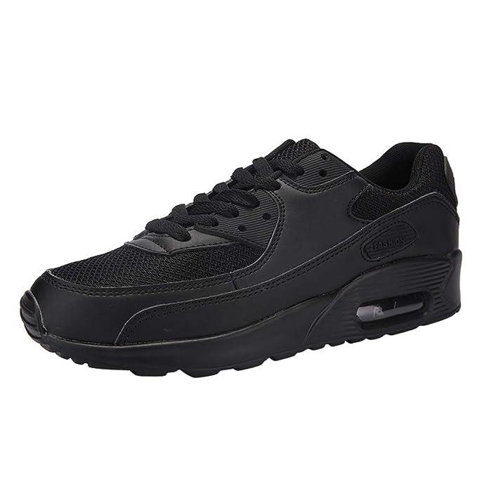 ZODOF Unisex Adulto Zapatillas de Aire para Pareja Zapatillas de Deporte Cordones Zapatillas de Viaje de Estudiante Running Zapatos Informales: Amazon.es: ...