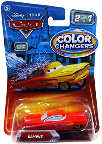 Disney / Pixar CARS Movie 155 Cars Color Changers Ramone