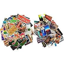SNation 100pcs Sticker pack HYPEBEAST Laptop Stickers skateboard stickers custom stickers stickers car stickers personalised stickers vinyl stickers decal stickers Supreme Sticker. (HYPBEAST 120)