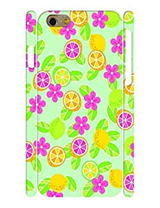 Fruits Collection Mobile Phone Case With Floral Lemon Printed Anti Scratch Case Cover for Iphone 6 (4.7) Inch