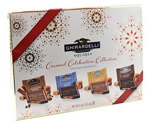 Ghirardelli Chocolate Assortment Caramel Celebration Collection 8.5 Oz (241.6 g) (Ghirardelli Chocolate Gift Boxes)