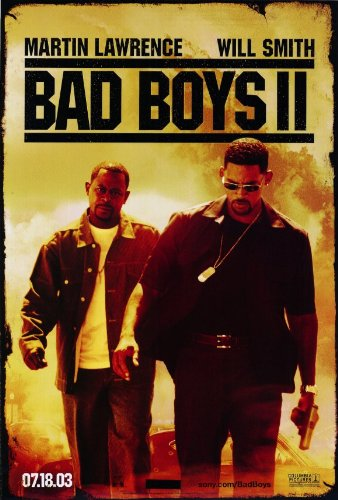 - Bad Boys II 27 x 40 Movie Poster - Style A