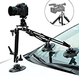 Selens Kaikoura SK1 Professional Gripper Car Suction Cup Camera Mount System for Moving Vehicle Photography Videography Equipment