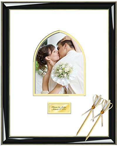Amazon.com - Personalized Picture Frame with Persian Arch 8W x 10H ...