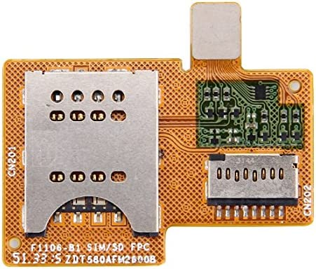 GzPuluz Flex Kabel SIMkaart Flex Kabel voor Sony Xperia miroST23