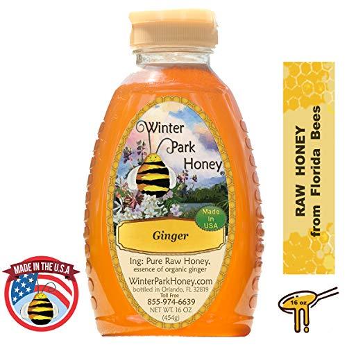 - Winter Park Honey - Raw Ginger Honey (16oz)