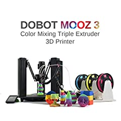 """Specs Layer Resolution: 50 - 300 microns Build Volume: Φ3. 94"""" * 3. 94""""Supported Materials: 1. 75mm PLA, ABS Printer Head Travel Speed: 10~100 mm/nozzle Diameter: 0. 4 mm Nozzle Temperature: 190~260℃Heated Bed: Up to 100℃Supported File Types:..."""
