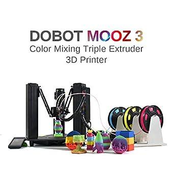 Amazon.com: DOBOT MOOZ 3 - La impresora 3D de mezcla de ...