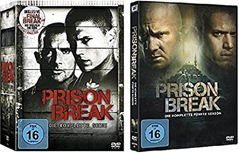 Prison Break 1 4 Box Staffel 5 Die Komplette Serie 27 Dvds