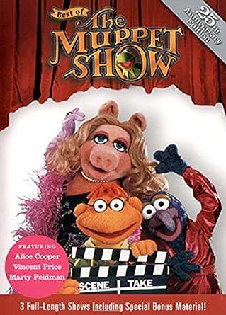 80a4af65fc6db Amazon.com: Best of the Muppet Show: Vol. 5 (Alice Cooper / Vincent ...
