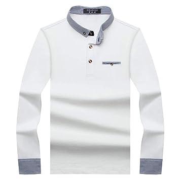 NISHIPANGZI Hombres Camiseta Camisa Polo Hombres Cómodos Hombres ...