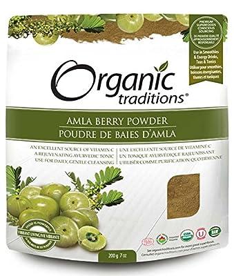 Organic Traditions Amla Berry Powder, 200 g