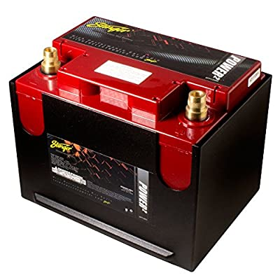 Stinger 1300 Amp SPP Series Dry Cell Battery with Protective Steel Case
