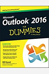 Outlook 2016 For Dummies Kindle Edition