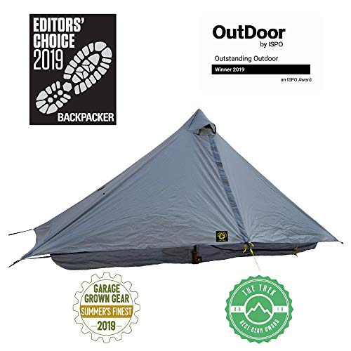 Six Moon Designs Lunar Solo Gray 1 Person Ultralight Tent 2020 Version