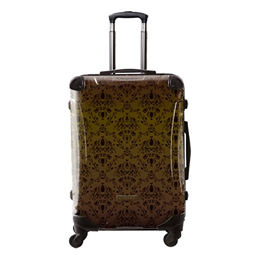 [キャラート] アート スーツケース ベージック ヴォイジュ フレーム4輪 63L L 保証付 68 cm 4.1kg ブラウン B01M4R6W2F