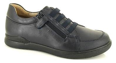 Garvalin, 171125, Zapato Velcro Azul Marino de Niños: Amazon.es: Zapatos y complementos