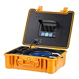 DeVision All-in-one Professional Video Sewer Drian Pipe Inspection Camera [Ship from USA] (3199F 130ft./40m+On-Screen Distance Counter+512Hz Built-in Locator).