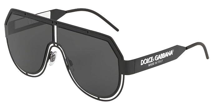 Dolce & Gabbana 0DG2231 Gafas de sol, Matte Black, 59 para Hombre