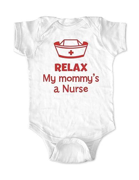 Amazon.com: My Mommy s una enfermera – Cute Funny Baby Body ...