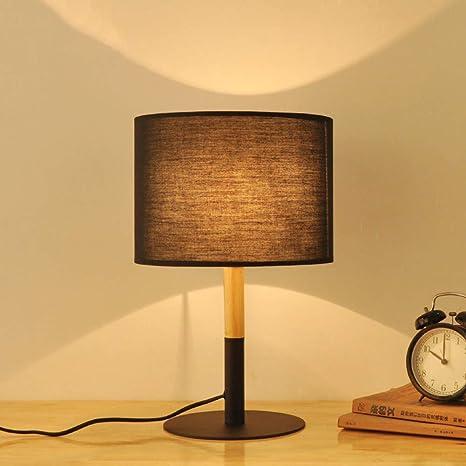 Lámpara de mesa de madera maciza,Clásico Minimalista Moderno ...