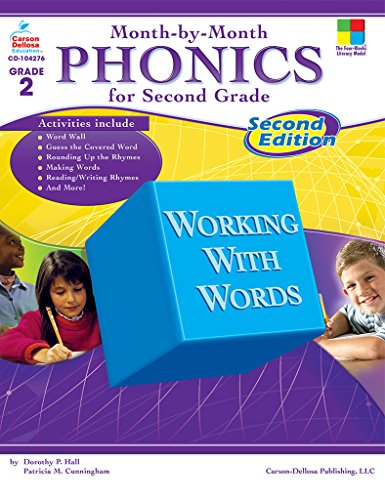Month-by-Month Phonics for Second Grade: Second Edition