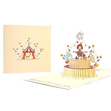 Kalttoy Cartes De Voeux Drole 3d Pop Up Cartes Valentin Amant Joyeux