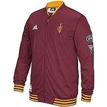 Cleveland Cavaliers Adidas 2015 NBA Men's On-Court Warm-Up Full Zip Jacket