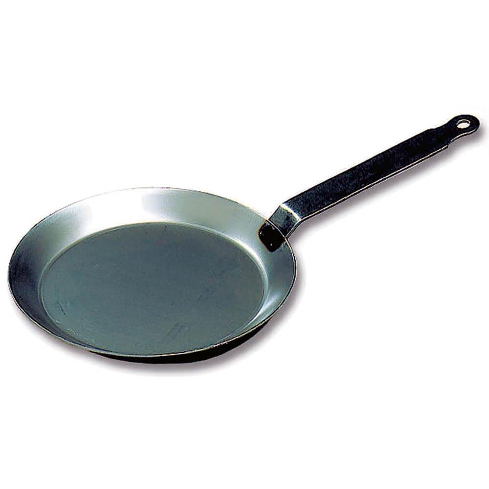 Matfer Bourgeat Black Steel Round Crepe Pan, 8.62'' 062033