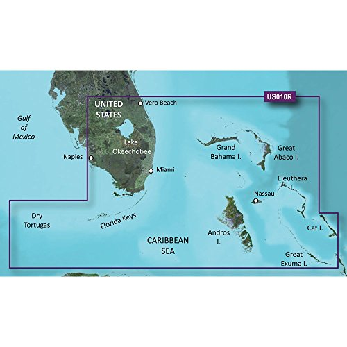 New Bluechart G2 Vision Card garmin 010c071100 Territory Southeast Florida Vero Beach South to Naples