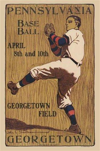 Walls 360 Peel & Stick Wall Decal: Pennsylvania Baseball Georgetown Field (24 in x 36 in)