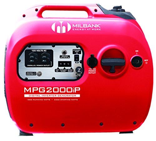 Milbank MPG2000IP Digital handheld Generator Inverter, 1,800-watt Cheap Prices