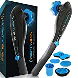 MIGHTY BLISSTM Deep Tissue Back and Body Massager {Cordless} Electric Handheld Percussion Muscle...