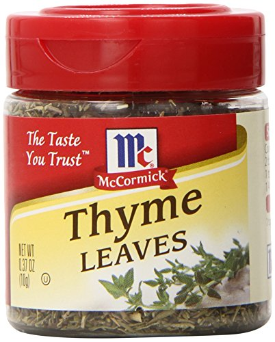 McCormick Thyme Leaves, 0.37 oz by McCormick