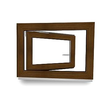 Premium Kunststofffenster Von Komforta Din Links-Funktion Dreh Kipp Fenster-Alle Gr/ö/ßen Kellerfenster Wei/ß BxH 700 x 800 mm Garagenfenster//Gartenhaus Fenster BxH 70 x 80 cm 3-fach Verglast