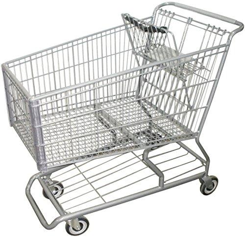 R. W. ROGERS RWR-PRE-490W Model #490W Shopping Cart, Dark - Rogers Shopping