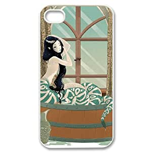 snake Case For iPhone 4/4s White Nuktoe757858 by icecream design