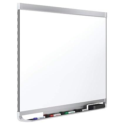 Quartet Magnetic Whiteboard, Porcelain, White Board, Dry Erase Board, 8 x 4, Aluminum Frame, Prestige 2 DuraMax (P558AP2)