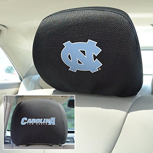 Fanmats NCAA UNC University of North Carolina Chapel Hill Head Rest Cover 10