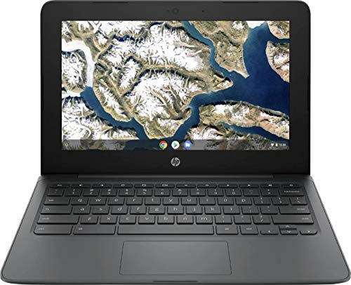 "2020 Newest HP Chromebook 11.6"" HD Laptop for Business and Student, Intel Celeron N3350, 4GB RAM, 32GB eMMC Flash Memory, Webcam, USB-A&C, WiFi , Bluetooth, Chrome OS, w/128GB SD Card, GM Accessories"