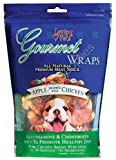 Loving Pets All Natural Premium Apple and Chicken Wraps with Glucosamine and Chondroitin Dog Treats, 8 oz, My Pet Supplies