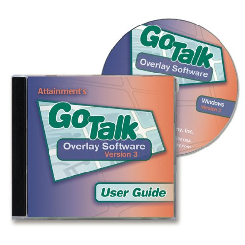 GoTalk 32-Plus with Overlay Software CD by Attainment Co