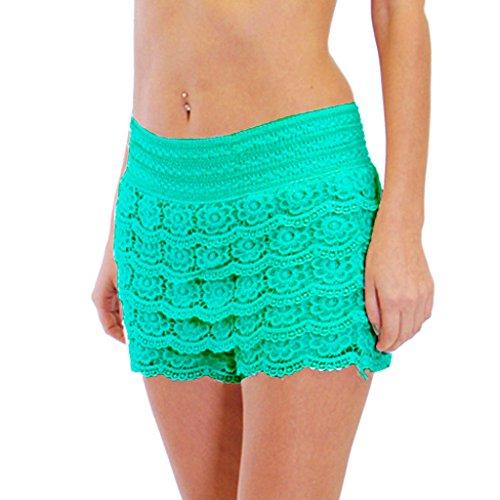 Dinamit Jeans Junior Girls Cotton Crochet Lace Shorts
