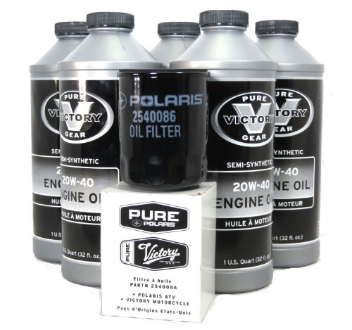 2011-2012 Victory Vegas 8-Ball Oil Change Kit (Victory Vegas Ball 8)