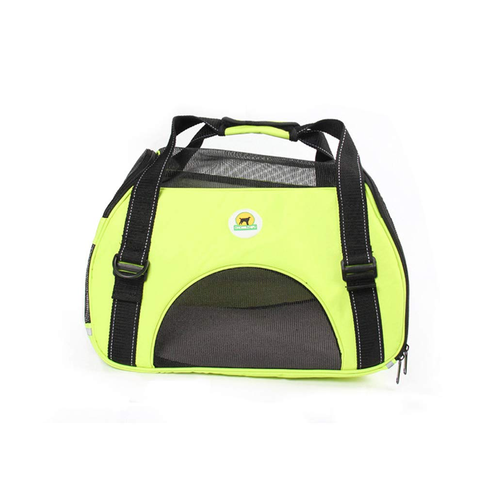 Dog and Cat Sling Carrier – Hands Free Reversible Pet Bag Soft Pouch and Tote Design (Yellow)