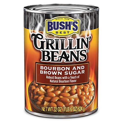 Bush's Best Grillin' Beans Bourbon and Brown Sugar Baked Beans, 22 oz