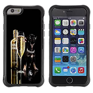 BullDog Case@ Funny Absolute Dog Chihuahua Rugged Hybrid Armor Slim Protection Case Cover Shell For iPhone 6 Plus CASE Cover ,iphone 6 5.5 case,iPhone 6 Plus cover ,Cases for iPhone 6 Plus 5.5