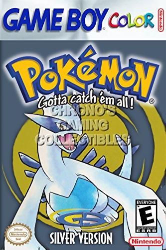 CGC Huge Poster - Pokemon Silver Version Nintendo Game Boy C