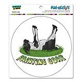 Graphics and More Fainting Goat - Myotonic Circle MAG-NEATO'S(TM) Automotive Car Refrigerator Locker Vinyl Magnet