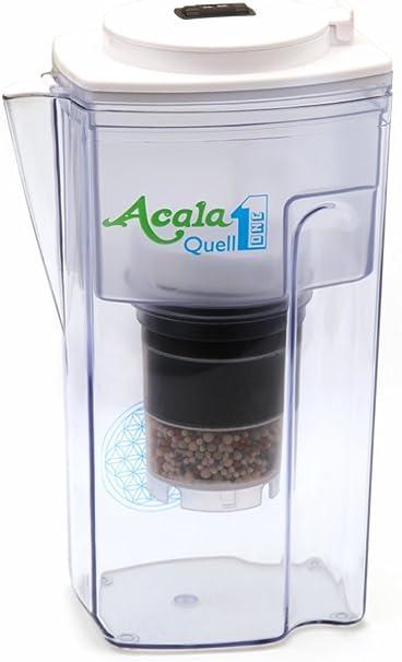 Filtro de agua AcalaQuell One | Jarra con filtro de agua | Blanca ...